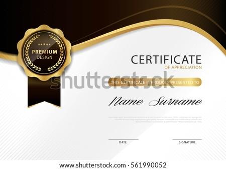 certificate template designs