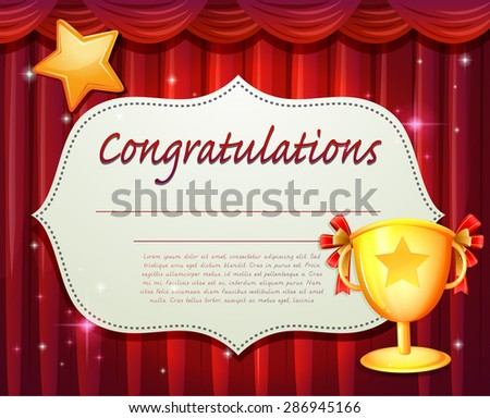 Congratulations Certificate Stock Images, Royalty-Free Images