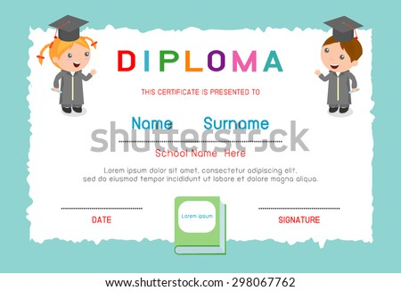 certificates for elementary students