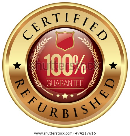 Certified Refurbished badge