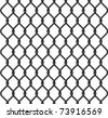 chain link fence texture - stock vector