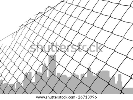 Broken Chain Link Fence Vector chain link fence background stock images, royalty-free images