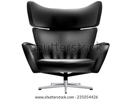 chair for office - stock vector