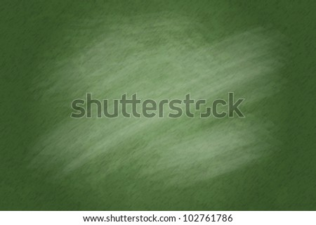 Chalkboard blackboard. Green Chalk Board Texture Empty Blank with Chalk Traces Vector - stock vector