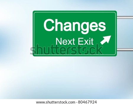 Changes sign vector