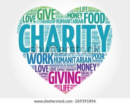 Stock images similar to id 220434697 charity silhouette for How do foundations work
