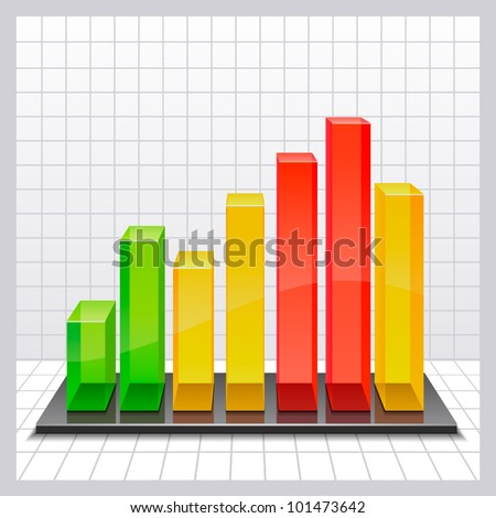 chart - stock vector