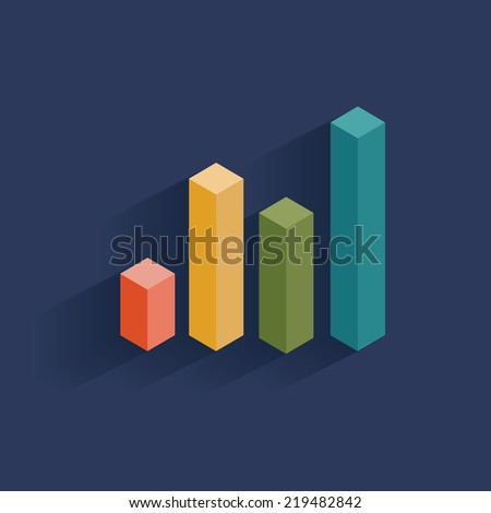 Chart design,clean vector