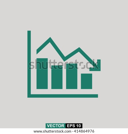 Chart icon vector, chart icon eps10, chart icon illustration, chart icon picture, chart icon flat design, chart icon, chart web icon, chart icon art, chart icon drawing, chart icon, chart icon jpg