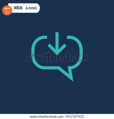 Chat icon Vector.