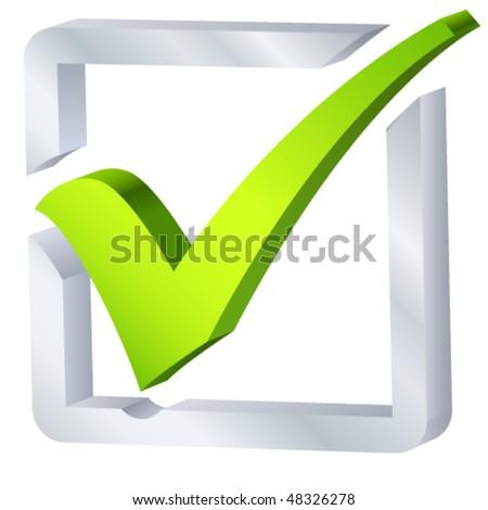 check list symbol - vector illustration - stock vector