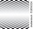 Checker Board Pattern Background - vector illustration - stock vector