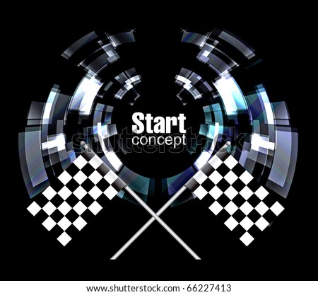 Checkered Background, eps10 - stock vector