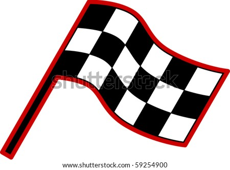 checkered racing flag