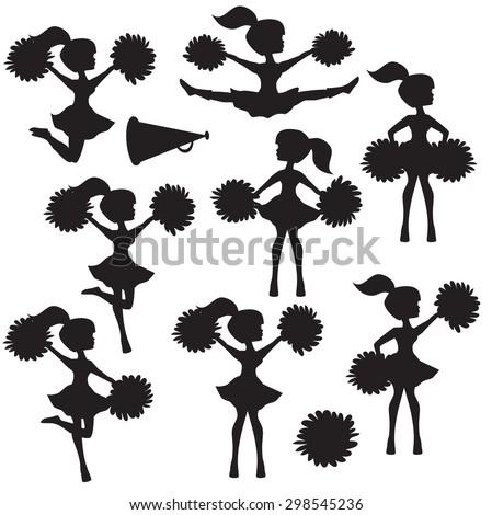 cheerleader stock images  royalty free images   vectors Basketball Cheerleader Clip Art Cheerleader and Football Player Clip Art