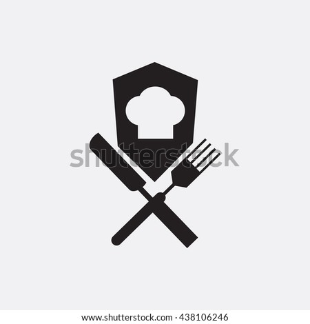 Chef cap,fork and knife Icon, Chef cap,fork and knife Icon Eps10, Chef cap,fork and knife Icon Vector, Chef cap,fork and knife Icon Eps, Chef cap,fork and knife Icon Jpg, Chef cap,fork and knife Icon - stock vector