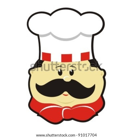 Chef cook - stock vector