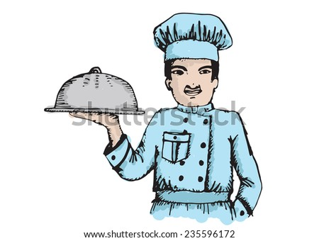 Chef for restaurant and cafe