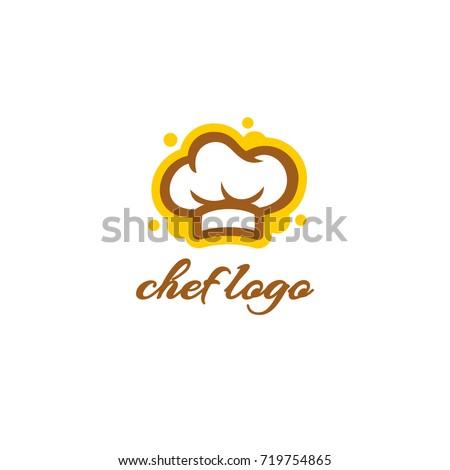 Chef Hat Logo Template Bakery Logo Stock Vector (Royalty Free ...