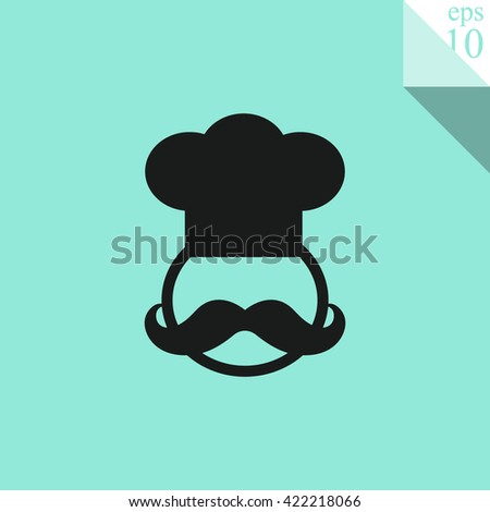 Chef Icon.  - stock vector