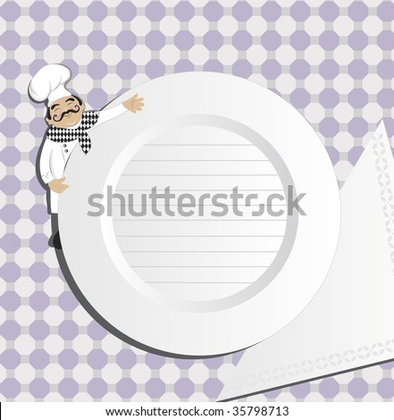 Chef(vector) In the gallery also available high resolution  jpeg image made from this vector