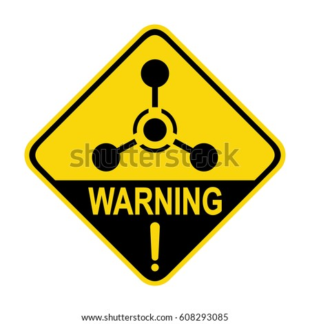 Chemical Hazard Sign Symbol Illustration Stock Vector Royalty Free