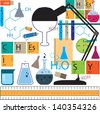 Chemistry table. - stock vector