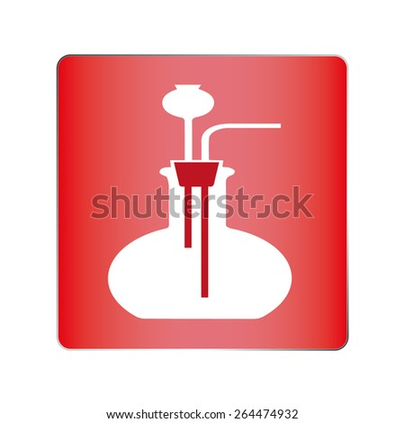 Chemistry. Vector illustration. Chemical experiments. - stock vector