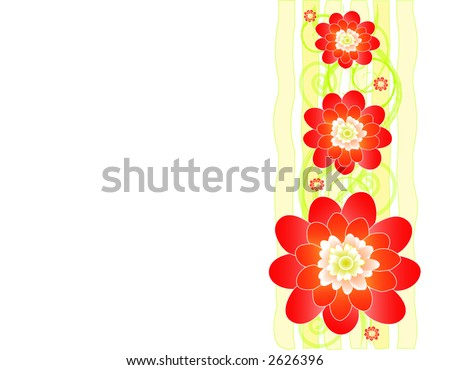 cherry blossom vector border stock vector hd royalty free 2626396 rh shutterstock com