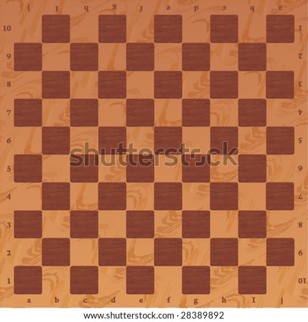 Wooden checker board wooden checkerboard in - Vintage Wooden Chessboard Close View Above Stock Photo