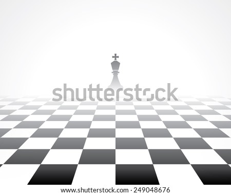 chess board. abstract background - stock vector