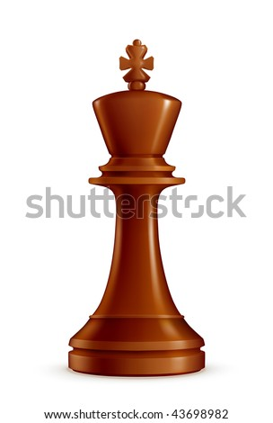 Chess King, vector