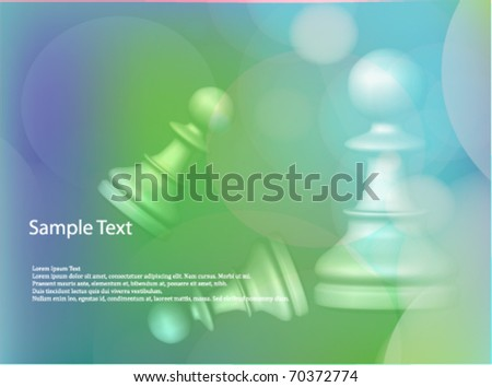 Chess Vector Background - stock vector