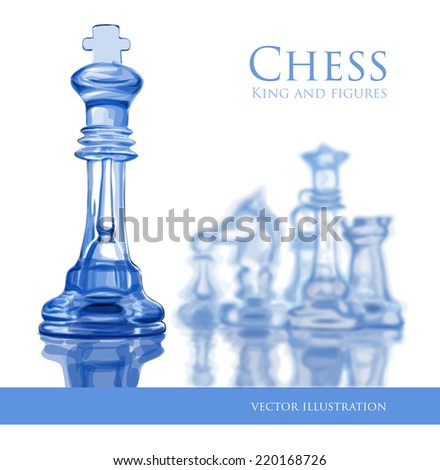 Chess - vector illustration - stock vector