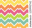 Chevron pattern, seamless background - stock vector