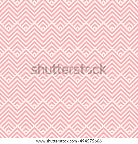 Chevron stripe pattern seamless pink two tone colors. Fashion design pattern seamless . Geometric chevron striped abstract background vector.