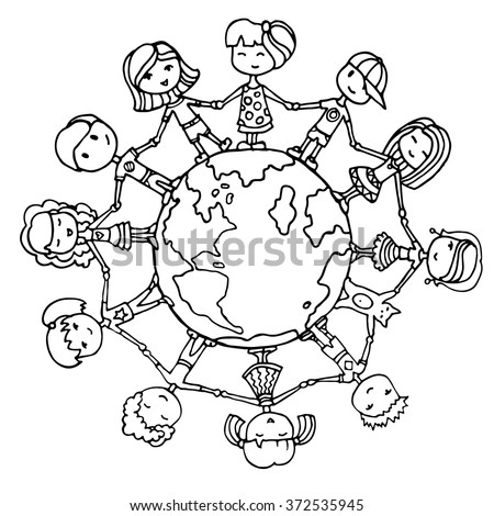 Unity In Diversity Coloring Coloring Pages