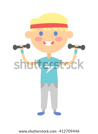 Kids Health And Fitness Clipart