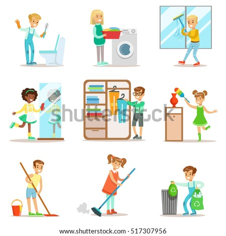 Mop Cartoon Stock Images Royalty Free Images Amp Vectors