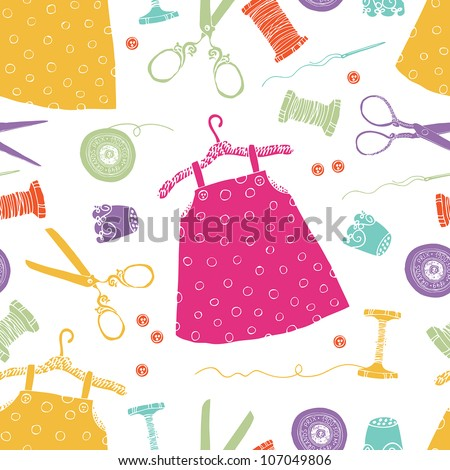 Children's dresses background