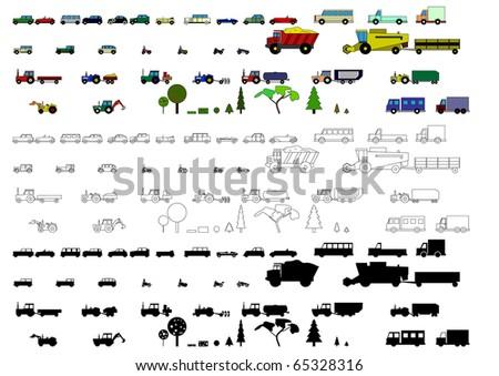 Children's toys - stock vector