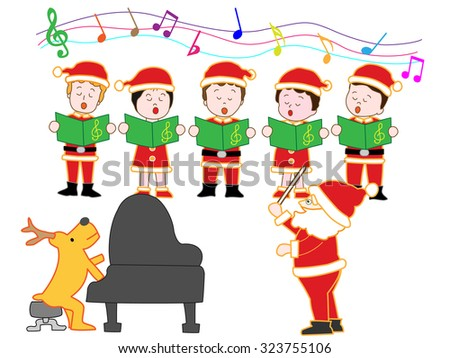 Christmas Singing Stock Images, Royalty-Free Images ...