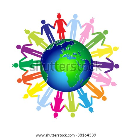 Children world - stock vector