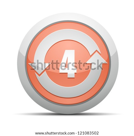 China RoHS Label EPUP 4 - stock vector