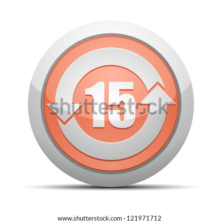 China RoHS Label EPUP 15 - stock vector