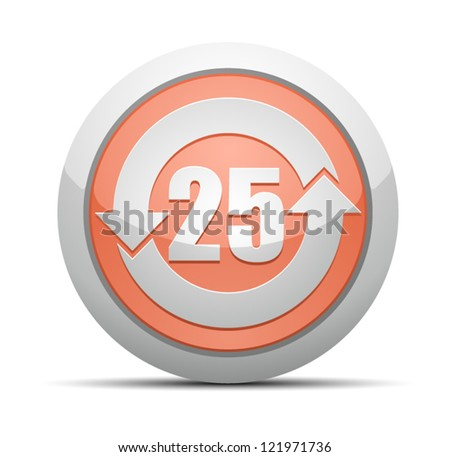 China RoHS Label EPUP 25 - stock vector