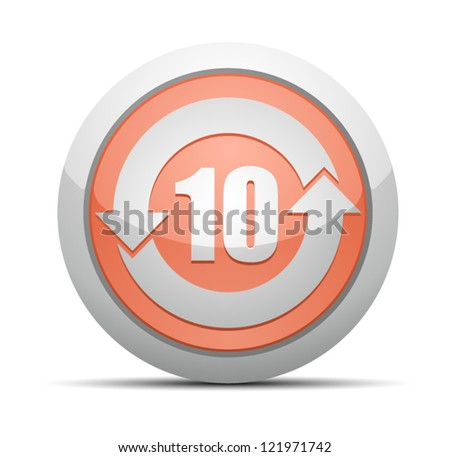 China RoHS Label EPUP 10 - stock vector