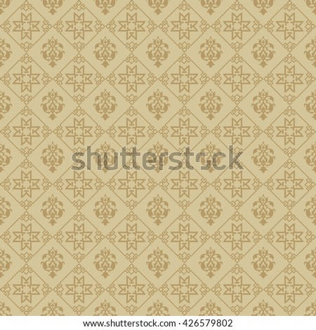 Chinese background pattern. Asian style texture. Modern wallpaper for your design. Vector background