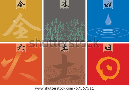 Chinese Character For Fire Chinese Characters Five