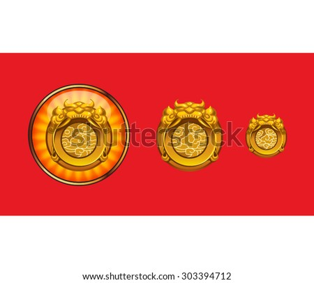 Chinese commander's token icon